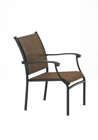 Tropitone Furniture Co., Inc. - Sorrento Relaxed Sling Dining Chair - 200824