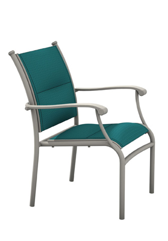 Tropitone Furniture Co., Inc. - Sorrento Padded Sling Dining Chair - 200824PS
