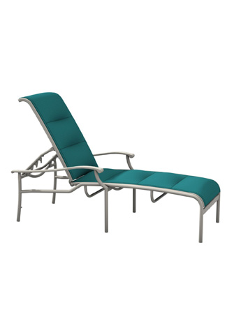 Tropitone Furniture Co., Inc. - Sorrento Padded Sling Chaise Lounge - 200832PS