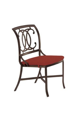 Tropitone Furniture Co., Inc. - Palladian Cast Side Chair with Pad - 21002805
