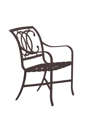 Tropitone Furniture Co., Inc. - Palladian Strap Dining Chair - 220024