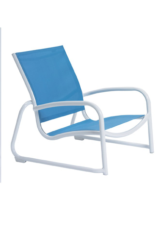Tropitone Furniture Co., Inc. - Millennia Relaxed Sling Sand Chair - 220413