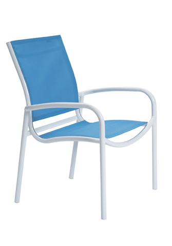 Tropitone Furniture Co., Inc. - Millennia Relaxed Sling Dining Chair - 220424