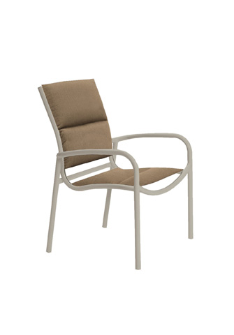 Tropitone Furniture Co., Inc. - Millennia Padded Sling Dining Chair - 220424PS