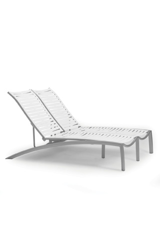 Tropitone Furniture Co., Inc. - South Beach Double Chaise Lounge - 230575RB