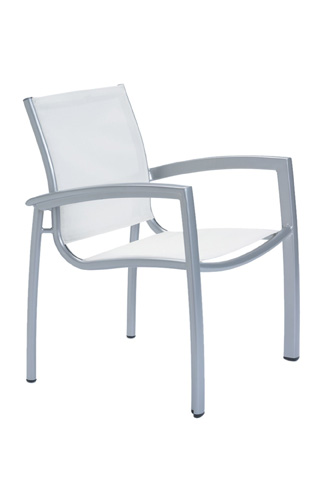 Tropitone Furniture Co., Inc. - South Beach Relaxed Sling Dining Chair - 240524