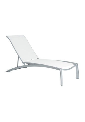 Tropitone Furniture Co., Inc. - South Beach Relaxed Sling Chaise Lounge - 240532