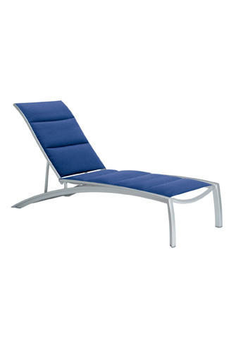 Tropitone Furniture Co., Inc. - South Beach Padded Sling Chaise Lounge - 240532PS