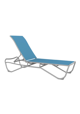 Tropitone Furniture Co., Inc. - Millennia Relaxed Sling Armless Chaise Lounge - 241533