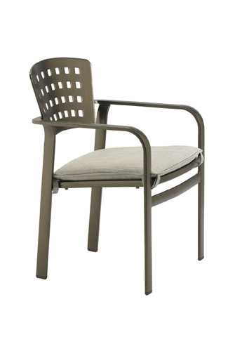 Tropitone Furniture Co., Inc. - Impressions Dining Chair with Pad - 26042405