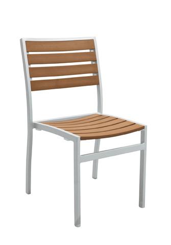 Tropitone Furniture Co., Inc. - Jado Faux Wood Slat Side Chair - 2J1328