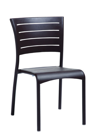 Tropitone Furniture Co., Inc. - Esso Aluminum Slat Side Chair - 2M1328
