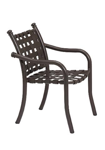 Tropitone Furniture Co., Inc. - La Scala Strap Dining Chair - 330024