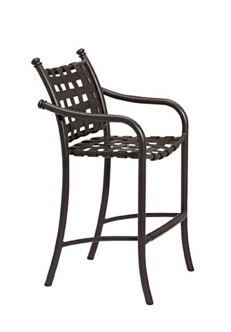 Tropitone Furniture Co., Inc. - La Scala Strap Barstool - 330026