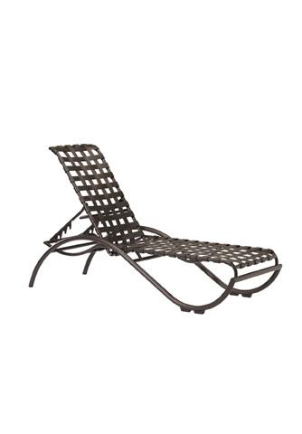 Tropitone Furniture Co., Inc. - La Scala Strap Chaise Lounge - 330032