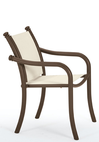 Tropitone Furniture Co., Inc. - La Scala Relaxed Sling Dining Chair - 330724