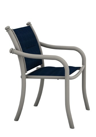 Tropitone Furniture Co., Inc. - La Scala Padded Sling Dining Chair - 330724PS