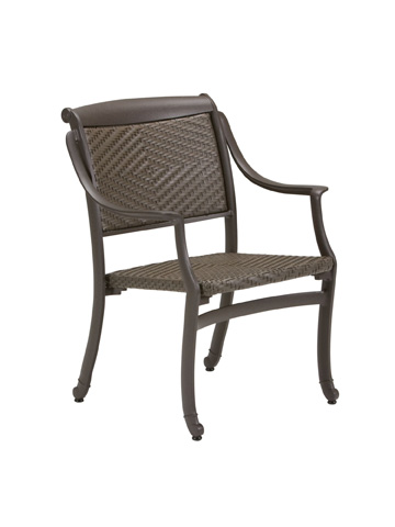Tropitone Furniture Co., Inc. - BelMar Woven Dining Chair - 340924DS