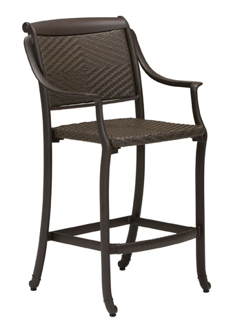 Tropitone Furniture Co., Inc. - BelMar Woven Stationary Barstool - 340926DS