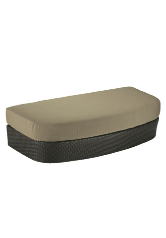 Tropitone Furniture Co., Inc. - Mia Woven Ottoman - 361052