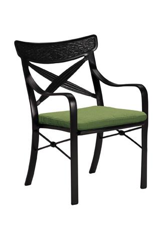 Tropitone Furniture Co., Inc. - Chimaya Dining Chair with Seat Pad - 37072405