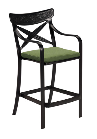 Tropitone Furniture Co., Inc. - Chimaya Barstool with Seat Pad - 37072605