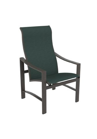 Tropitone Furniture Co., Inc. - Kenzo Sling High Back Dining Chair - 381501