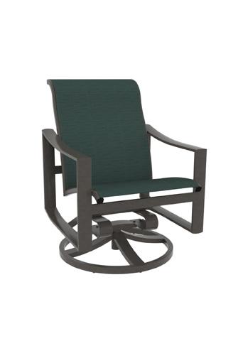Tropitone Furniture Co., Inc. - Kenzo Sling Swivel Rocker - 381569