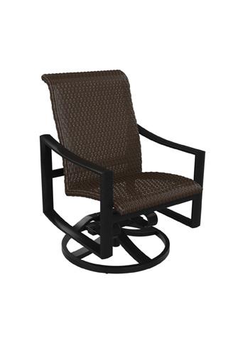 Tropitone Furniture Co., Inc. - Kenzo Woven Swivel Rocker - 381569WS