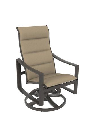 Tropitone Furniture Co., Inc. - Kenzo Padded Sling High Back Swivel Rocker - 381570PS
