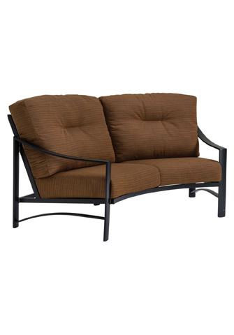 Tropitone Furniture Co., Inc. - Kenzo Cushion Crescent Loveseat - 391410CL