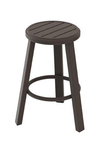 Tropitone Furniture Co., Inc. - Banchetto Backless Stationary Barstool - 401126-25