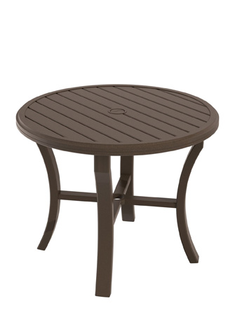 Tropitone Furniture Co., Inc. - Banchetto Round Dining Umbrella Table - 401136U