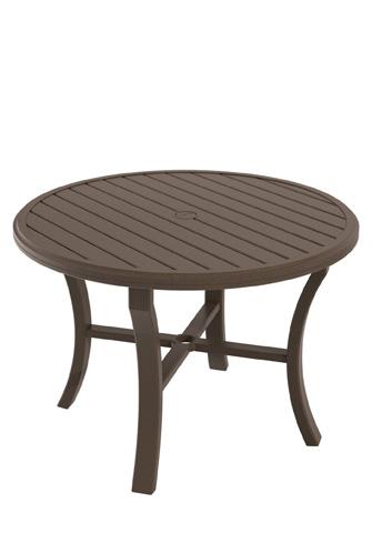 Tropitone Furniture Co., Inc. - Banchetto Round Dining Umbrella Table - 401142U