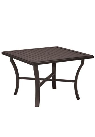 Tropitone Furniture Co., Inc. - Banchetto Square Dining Umbrella Table - 401143U
