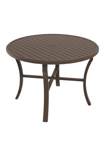 Tropitone Furniture Co., Inc. - Banchetto Round Counter Umbrella Table - 401154U-34