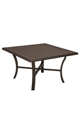 Tropitone Furniture Co., Inc. - Banchetto Square Dining Umbrella Table - 401158U