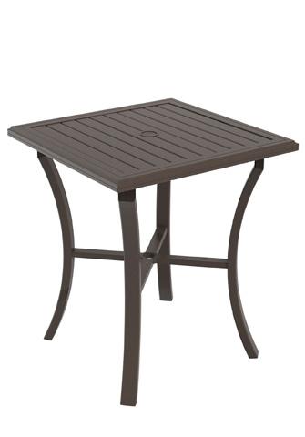 Tropitone Furniture Co., Inc. - Banchetto Square Bar Umbrella Table - 401176U-40