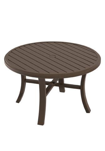 Tropitone Furniture Co., Inc. - Banchetto Round Chat Umbrella Table - 401186U
