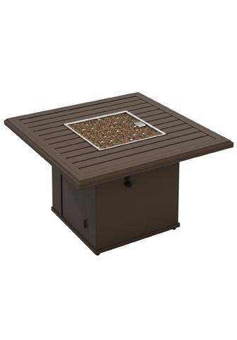 Tropitone Furniture Co., Inc. - Banchetto Square Fire Pit - 401443FP