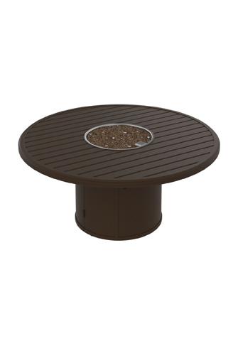 Tropitone Furniture Co., Inc. - Banchetto Round Fire Pit - 401554FP