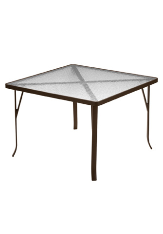 Tropitone Furniture Co., Inc. - Acrylic Square Dining Table - 4243A