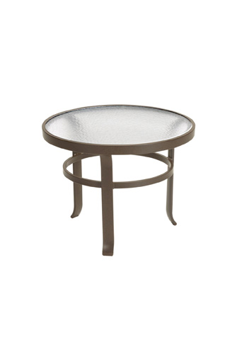 Tropitone Furniture Co., Inc. - Acrylic Round Tea Table - 4283A