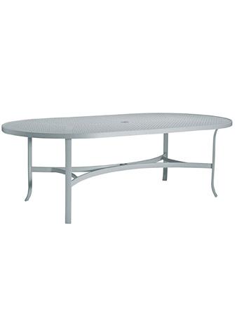 Tropitone Furniture Co., Inc. - Boulevard Oval Dining Umbrella Table - 4284SBU