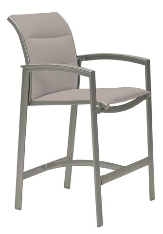 Tropitone Furniture Co., Inc. - Elance Padded Sling Stationary Barstool - 461126PS