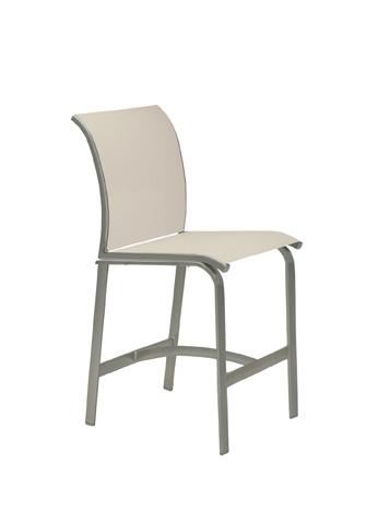 Tropitone Furniture Co., Inc. - Elance Relaxed Sling Armless Stationary Barstool - 461429-28