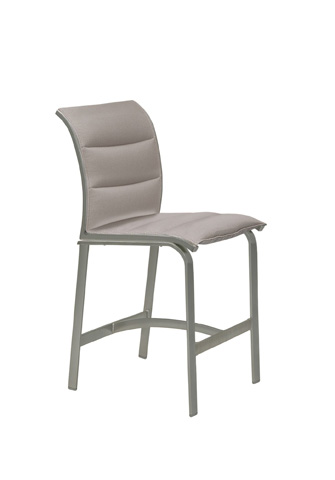 Tropitone Furniture Co., Inc. - Elance Padded Sling Armless Stationary Barstool - 461429PS-28