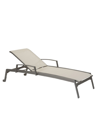 Tropitone Furniture Co., Inc. - Elance Relaxed Chaise Lounge with Arms - 461433W