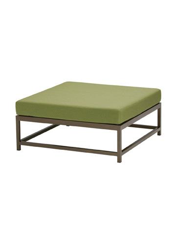 Tropitone Furniture Co., Inc. - Cabana Club Aluminum Square Ottoman - 591017SO
