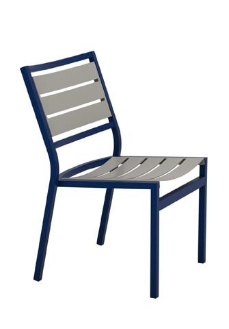 Tropitone Furniture Co., Inc. - Cabana Club Aluminum Slat Side Chair - 591028MS